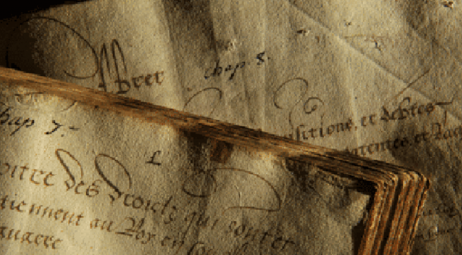 Ouverture des inscriptions à l'atelier «Archives de famille»