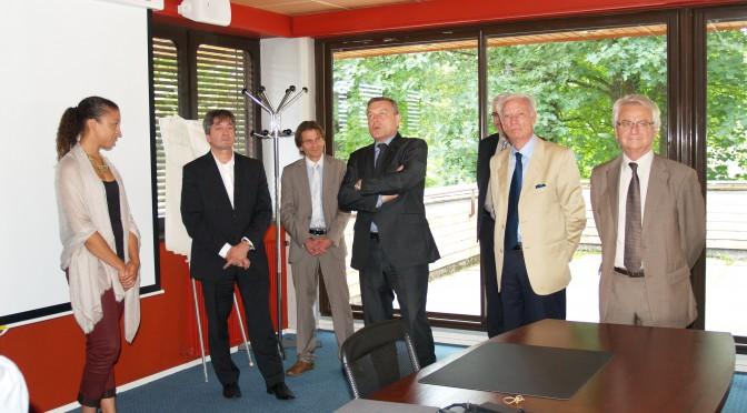 Signature Chaire HCP et remise de prix Bourse J.P. Hugot