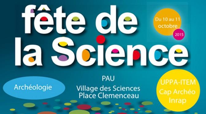 Fête de la Science, Pau, 10-11 octobre 2015