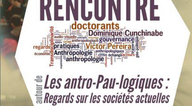 Présentation ouvrage «Les Anthro-Pau-Logiques», PUPPA