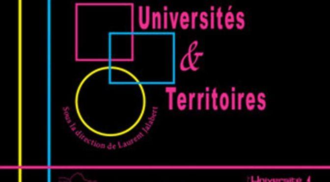 Parution: Universités et Territoires