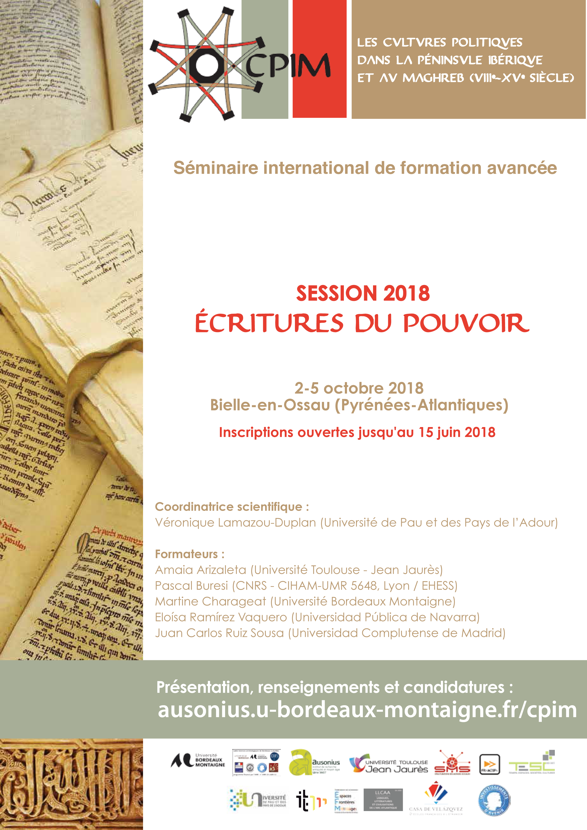 Calendrier Examens Bordeaux Montaigne.Seminaire Des Doctorants Les Carnets D Item