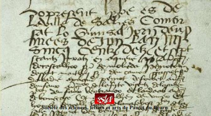 Parution : Le Livre noir de Salies (1517-1684)